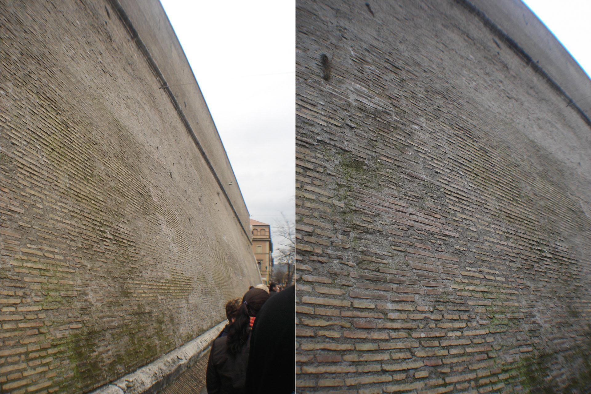 バチカンの壁